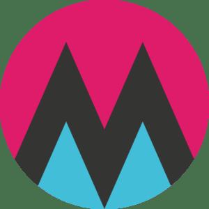 Logo: Galleri Münch (ikon, farve)